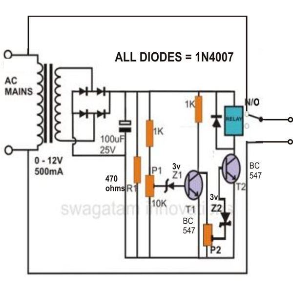 Timer Relay 120v Wiring Diagram What Is Cut Off Voltage Ups Battery Center