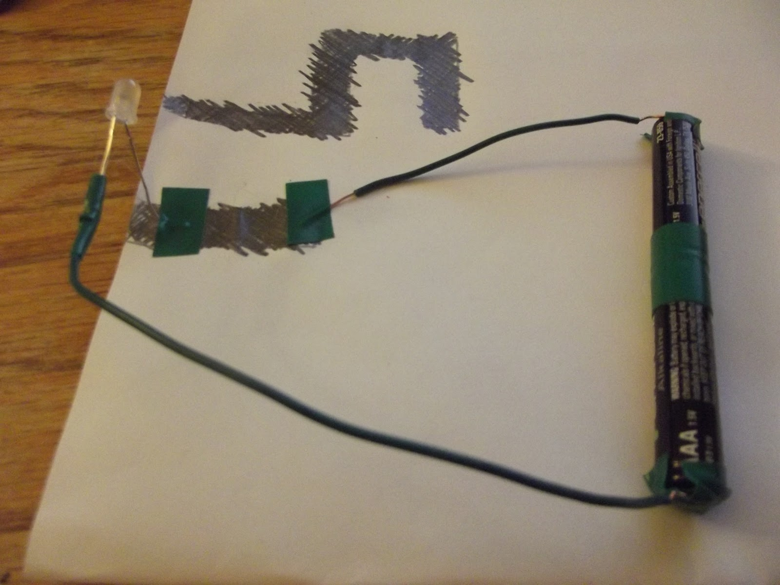 hight resolution of paper circuit