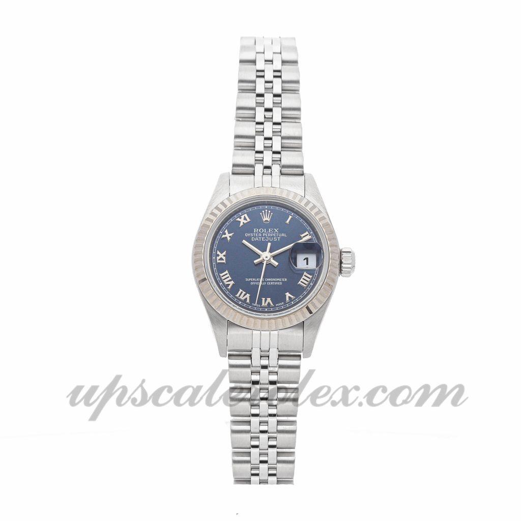 Ladies Rolex Datejust 79174 26mm Case Mechanical