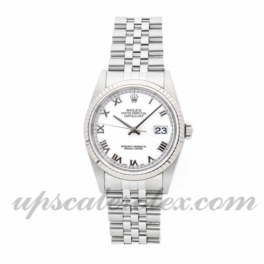 Rolex Datejust 16234 Men 36mm Case Switzerland Movement