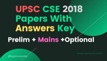 UPSC Question Paper 2017 With Answers Keys – UPSC Civil