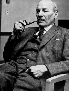 Sir Clement Atlee