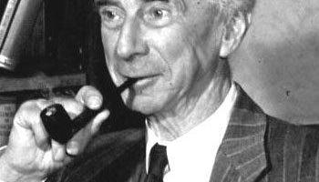 Bertrand Russell, great philosopher, mathematician, author and Chairmain