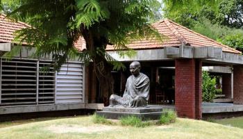 Mahatma Gandhi in Ahmadabad