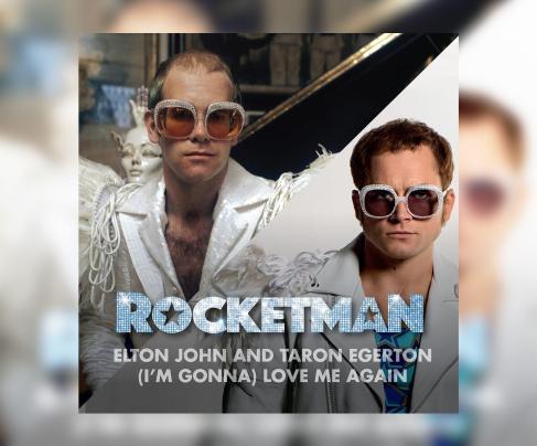 Elton John for 'I'm Gonna Love Me Again', 'Rocketman'