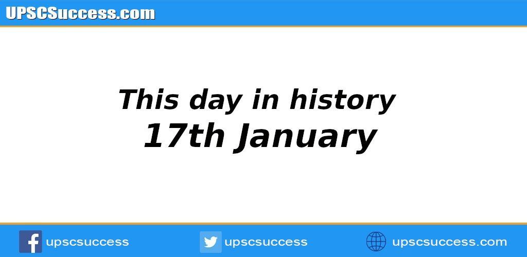17th January