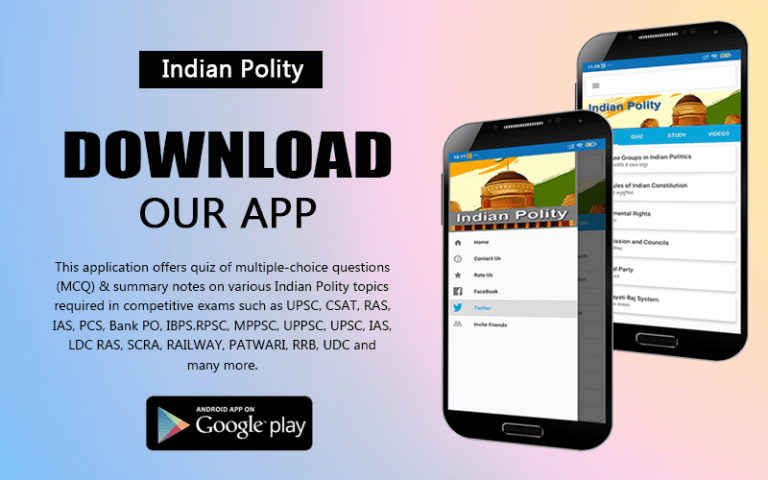 Indian Polity Android App