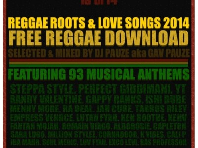 Pauze Radio- Show 310- Reggae Roots and Love Songs