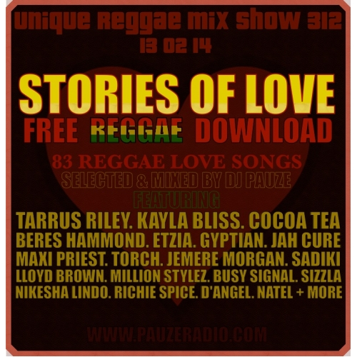 Pauze Radio: Show #312: Reggae Love Songs - Upsetta com