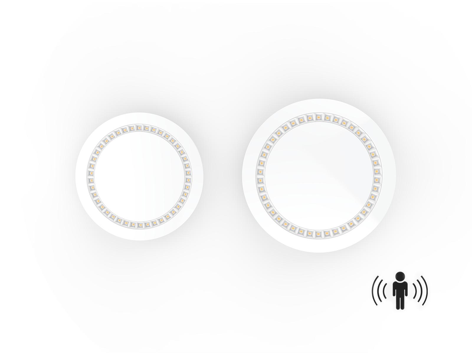 12 Inch 15w Ceiling Mount Motion Sensor Light Fixture