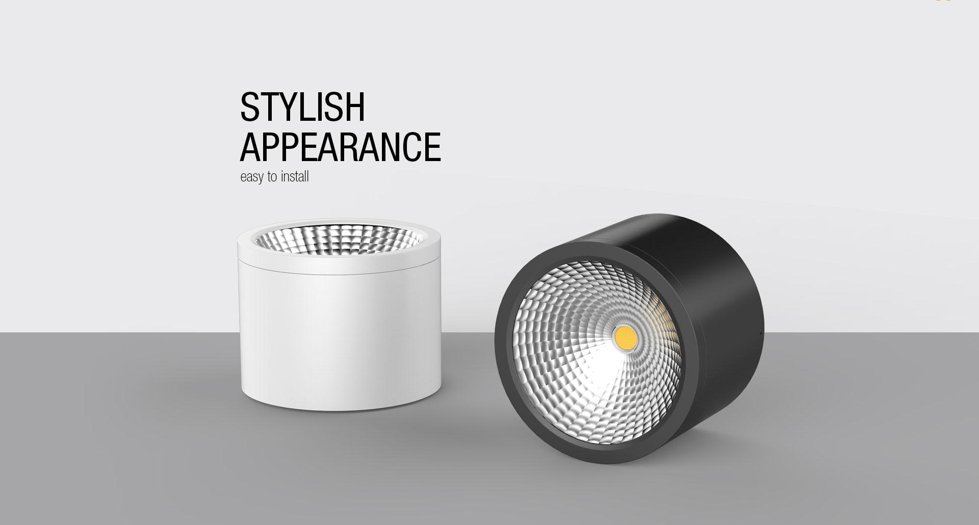 DL38 COB Surface Mounted LED Downlight  UPSHINE Lighting