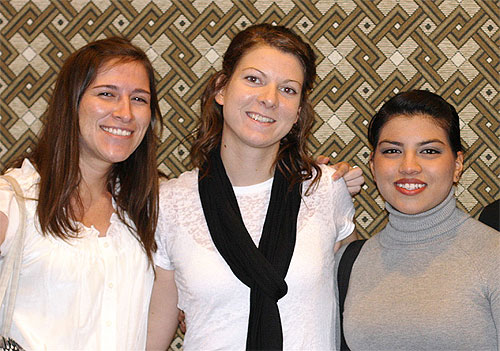 Brooke and Daniela encourage Ashley as she goes to Honolulu to strengthen our young church planting!
