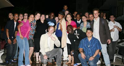 The AMS Region celebrates the baptism of Tahira Essex on Sunday evening in Hollywood!