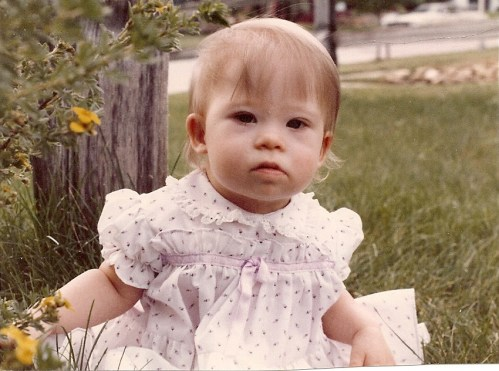 Leah Rae Stodden_1 year old_July 1 1983_Favorite Pic0001
