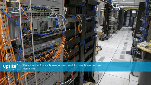 small resolution of data center cable management and airflow management
