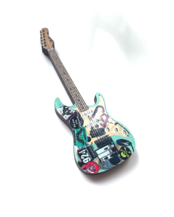 Billie Joe Armstrong Guitar Pin