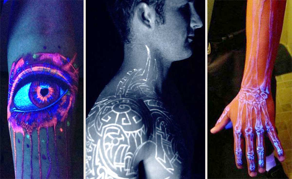Con Estos 20 Tatuajes Fluorescentes Serás El Alma De La Fiesta Upsocl