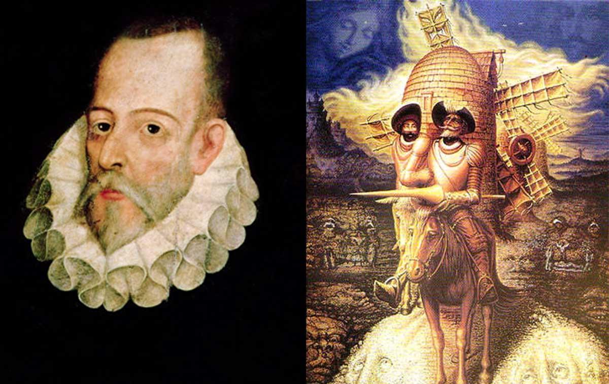 Resultado de imagen de Cervantes