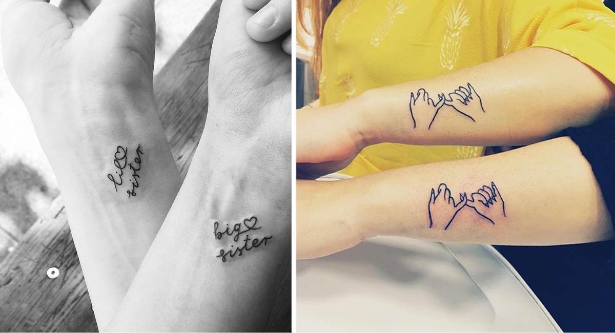 15 Ideas De Tatuajes Que Puedes Hacerte Junto A Tu Hermana Para