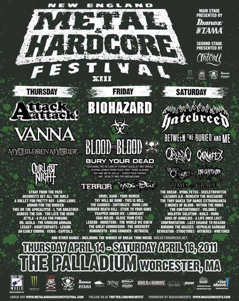 Metal & Hardcore Festival 2011