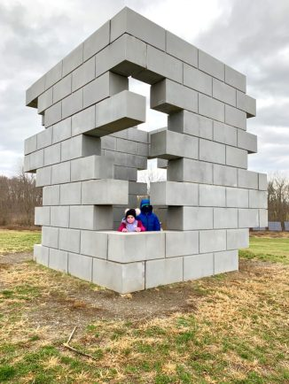 Sculpture at Art Omi