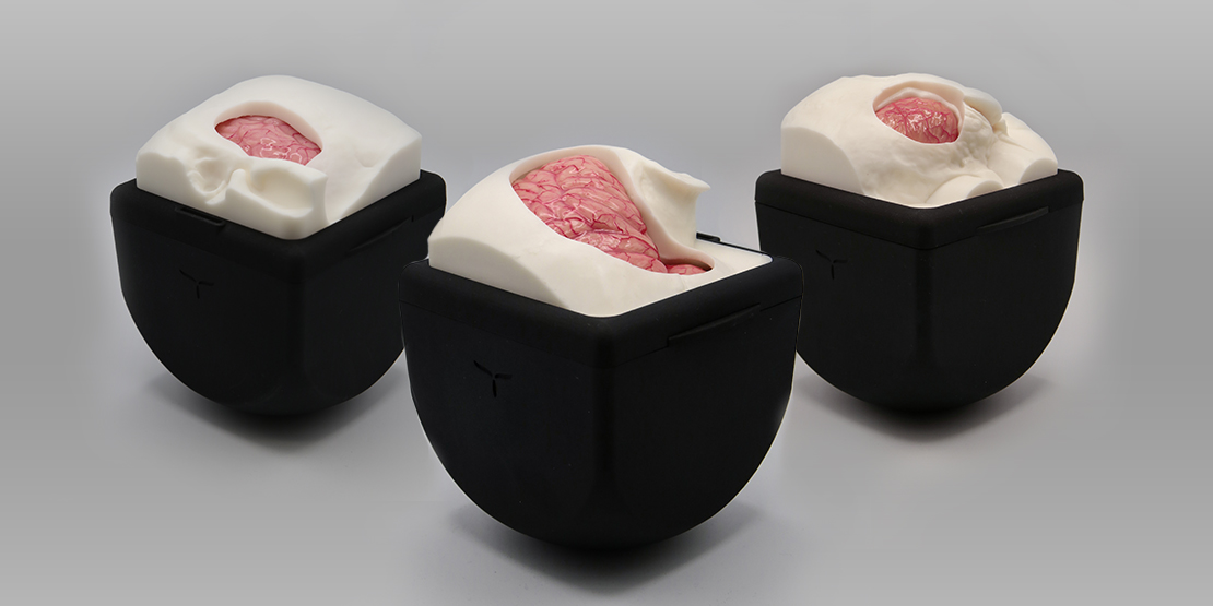 UpSurgeOn Brainbox: Simulators of neurosurgical scenarios for hybrid training