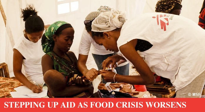 STEPPING UP AID AS FOOD CRISIS WORSENS
