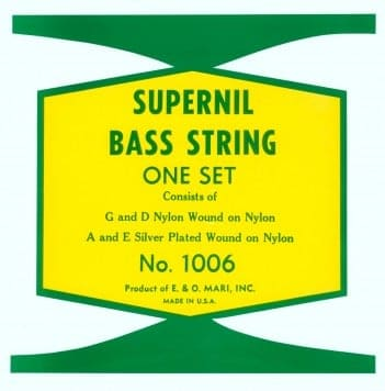 labella supernil nylon double bass strings upright bass string set. Black Bedroom Furniture Sets. Home Design Ideas