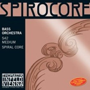 Thomastik Spirocore Double Bass Strings S42 5 STRING SET HIGH C