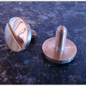 Replacement screw for rubner double bass tuning gear
