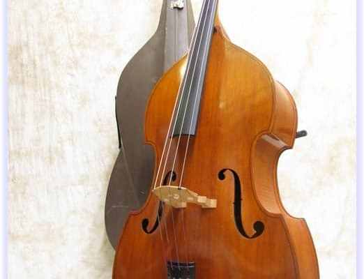 SOLD: Wilfer Laminated Double Bass Outfit