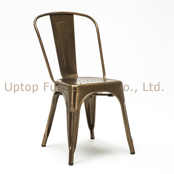 steel chair gold dining room chairs cape town uptop furnishings co ltd china furniture restaurant detailed description