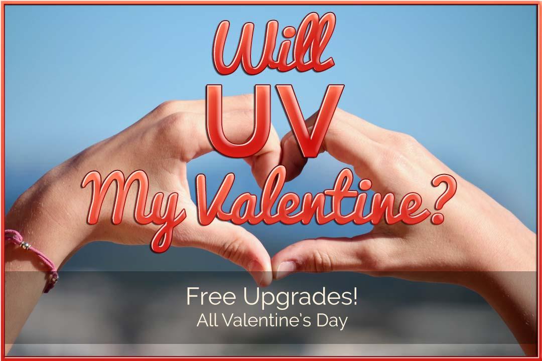 Will UV my Valentine