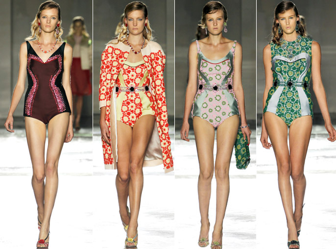 espresso news 342a Prada Swimwear Shape Up
