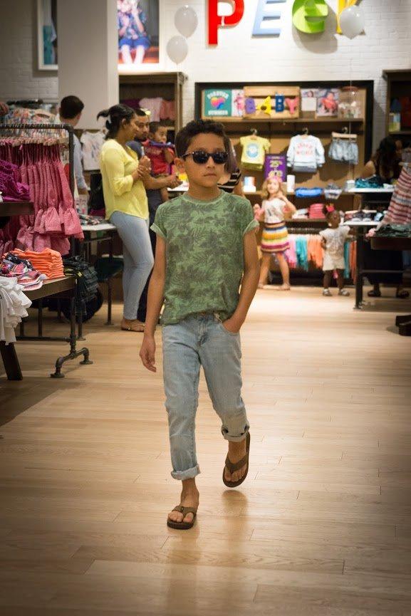 Peek Kids fashion show