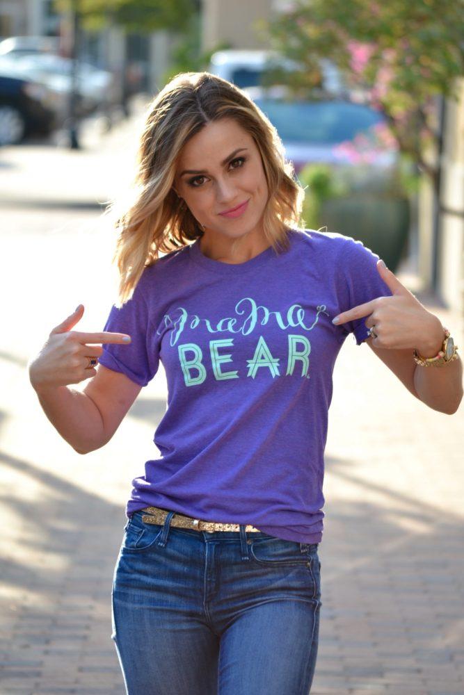 Mama bear Tee Outfit