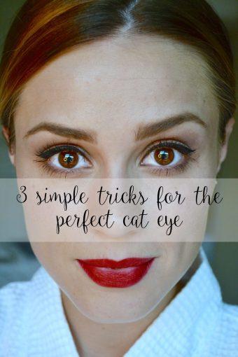 Cat Eye Makeup: 3 simple tricks