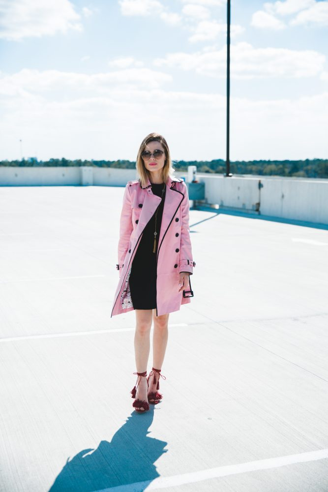 pretty in pink look