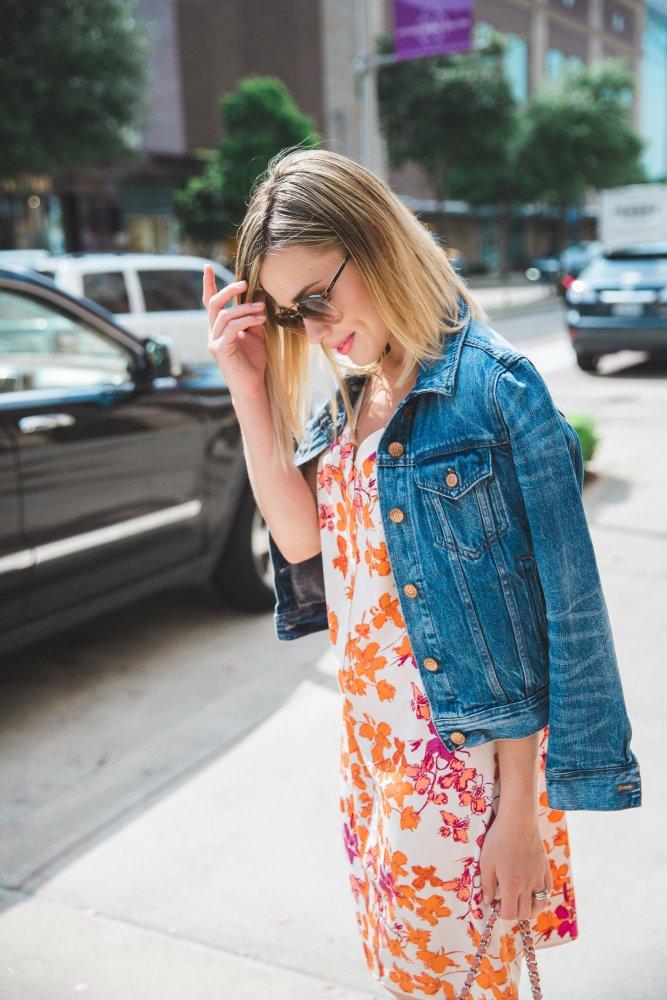 summer floral dress