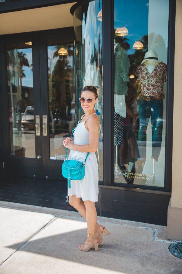 Summer denim dress