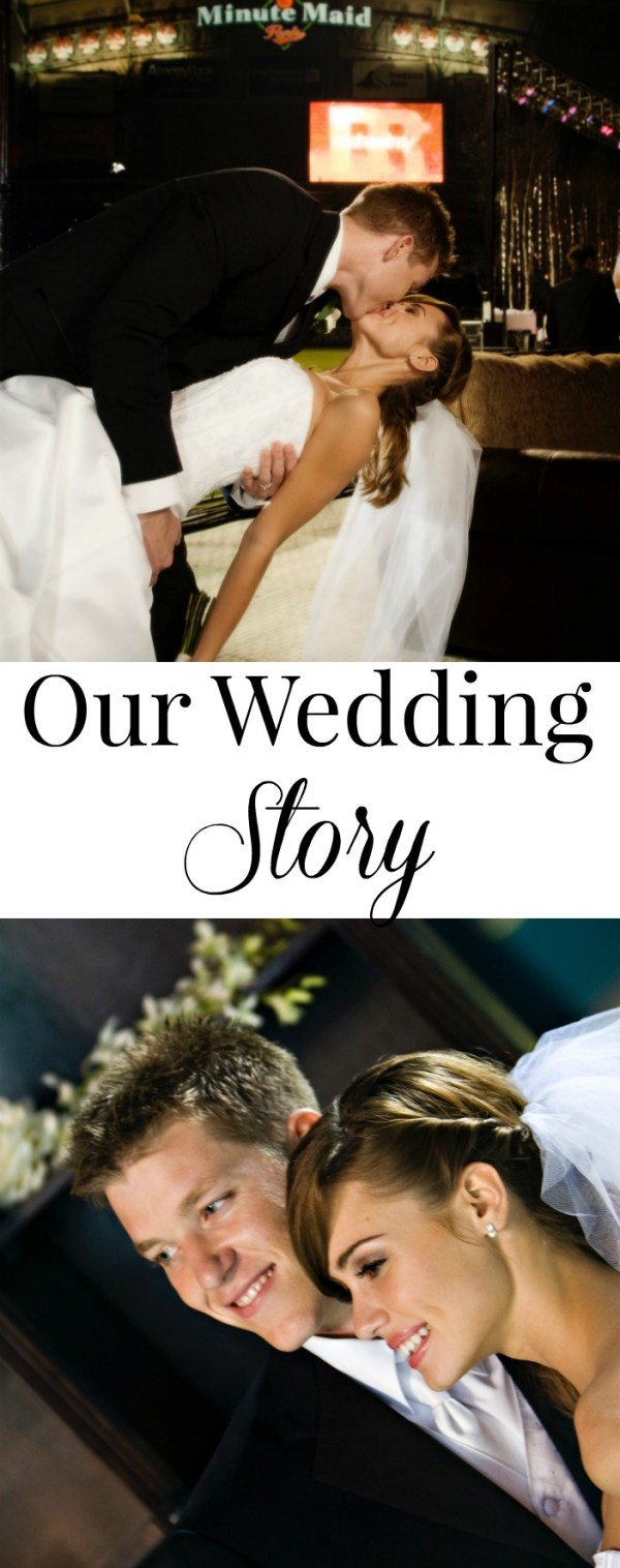 Our wedding story and how we got married on Rachel Ray