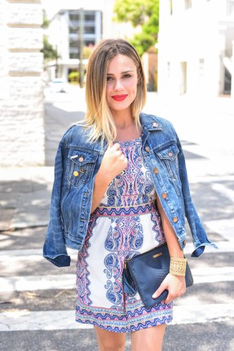 Summer Dress X Denim Jacket