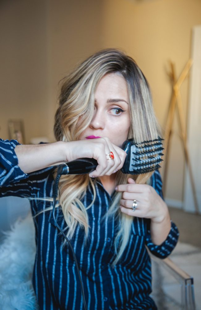 Two looks for your locks with Conair   How to curl your extensions   Uptown with Elly Brown