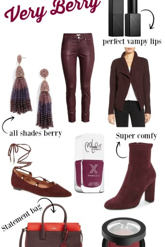Tuesday Trend- Very Berry