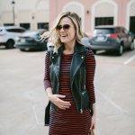 Striped Dress x OTK Boots