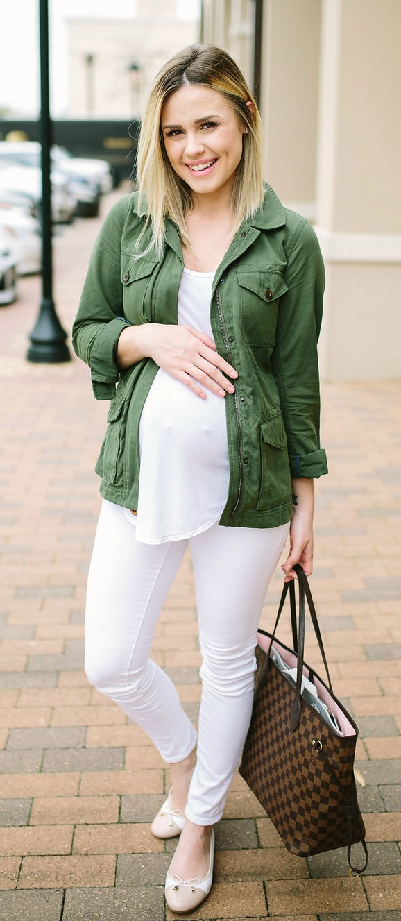 Maternity Fashion   Casual outfit   Ballet Flats   Maternity Outfits   Seraphine   Uptown with Elly Brown