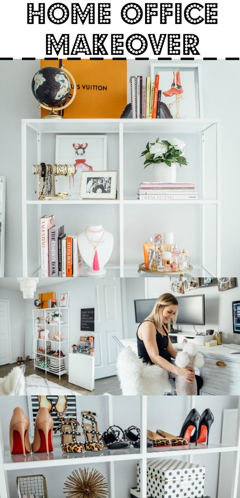 Home Office Decor | Office Decor | White office Decor | Chic Office Decor | Uptown with Elly Brown