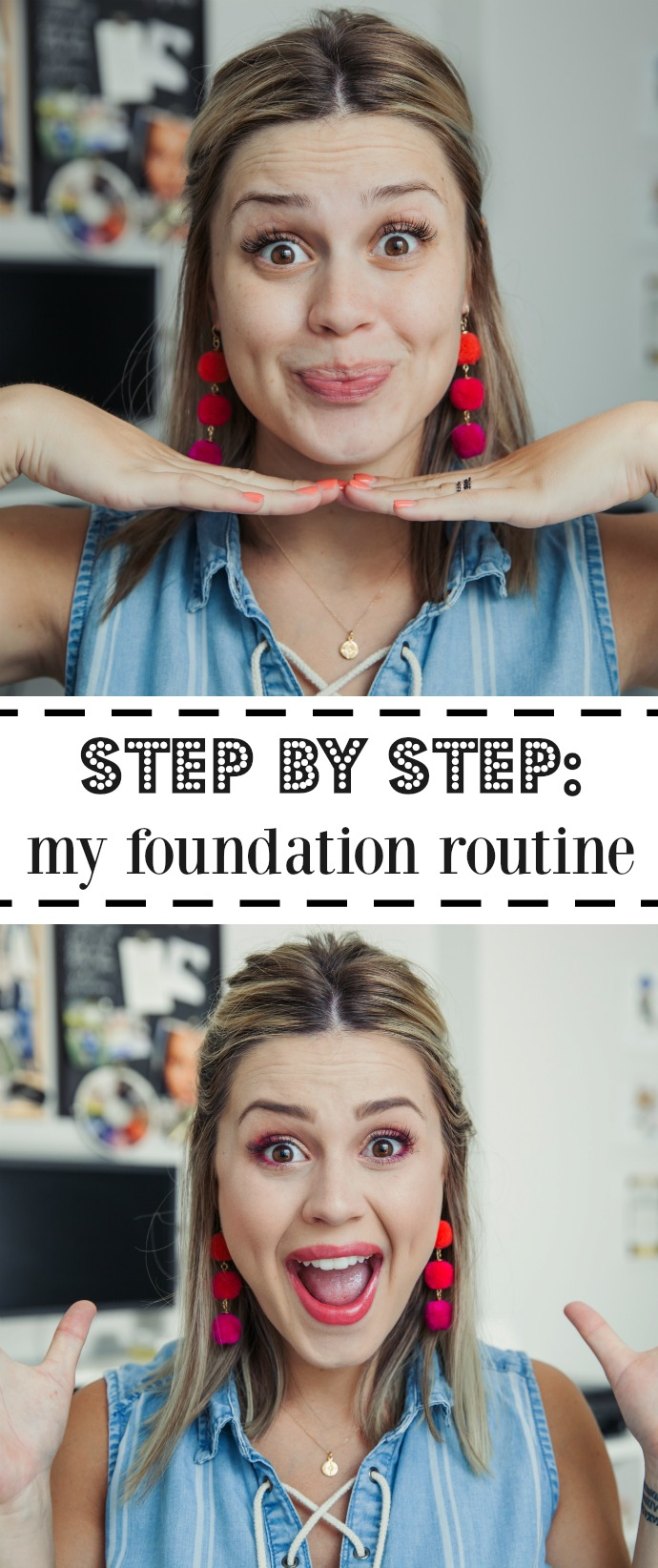 How to: My Full Face Foundation Routine by Houston blogger Uptown with Elly Brown