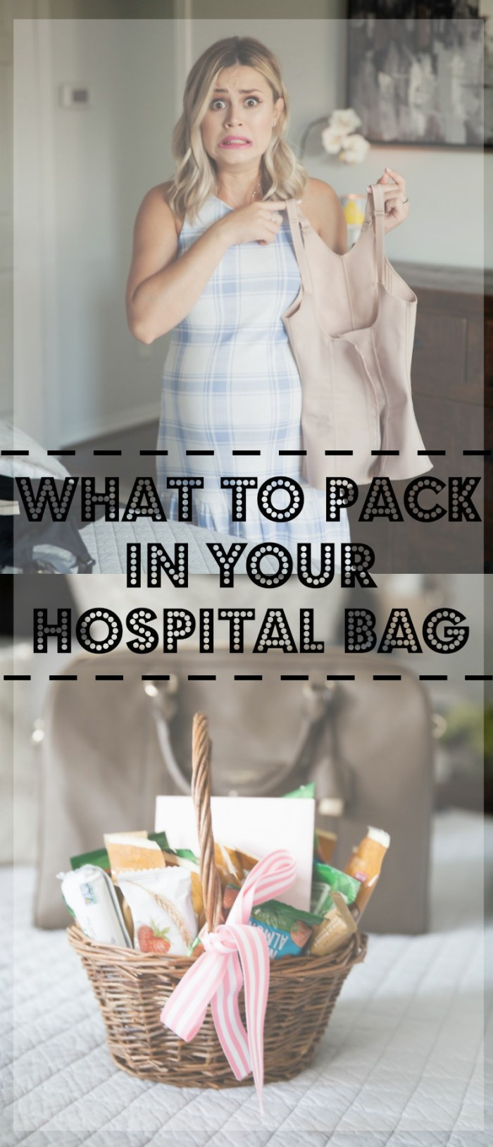 What to pack in your hospital bag for Labor and Delivery | Uptown with Elly Brown