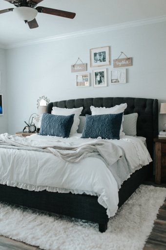 Home Reveal: Our Modern Master Bedroom